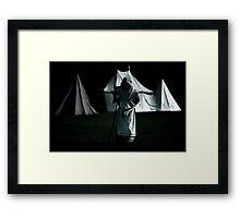 Lone Friar Framed Print