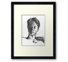Portrait of Steph Framed Print