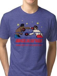 Funny Shirt - Boxing Tri-blend T-Shirt