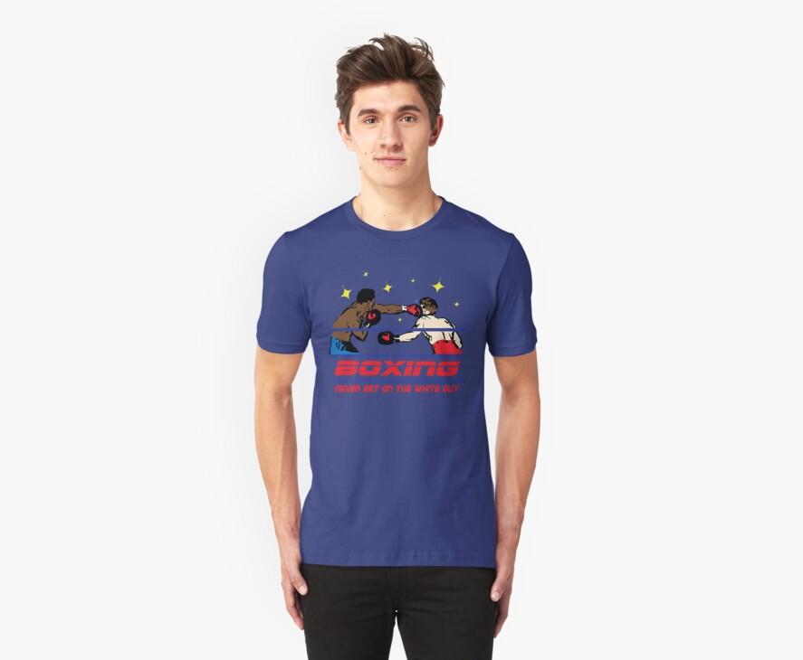 Funny Shirt - Boxing by MrFunnyShirt