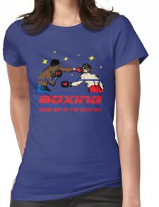 Funny Shirt - Boxing Womens Fitted T-Shirt