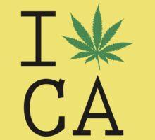 Funny Shirt - I Love California by MrFunnyShirt