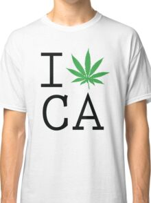 Funny Shirt - I Love California Classic T-Shirt