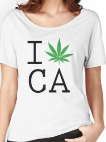Funny Shirt - I Love California Women's Relaxed Fit T-Shirt