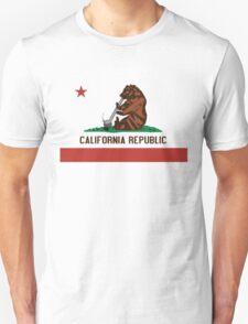 Funny Shirt - California State Flag Unisex T-Shirt