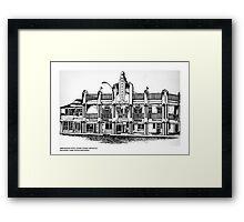 AMBASSADOR HOTEL , MACKAY, QUEENSLAND Framed Print