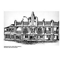 AMBASSADOR HOTEL , MACKAY, QUEENSLAND Photographic Print