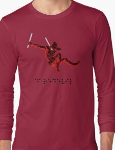 Braille DareDevil. Long Sleeve T-Shirt