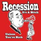 Funny Shirt - Recession  by MrFunnyShirt