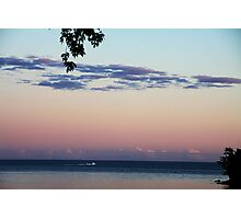 Sunset Over Lake Ontario Photographic Print