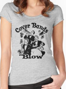 Funny Shirt - Cover Bands Women's Fitted Scoop T-Shirt