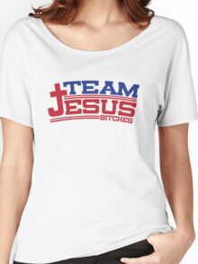 Funny Shirt - Team Jesus Women's Relaxed Fit T-Shirt