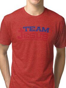Funny Shirt - Team Jesus Tri-blend T-Shirt