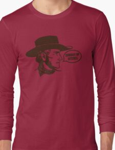 Funny Shirt - Cowboy Up Long Sleeve T-Shirt