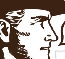 Funny Shirt - Cowboy Up Sticker