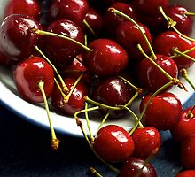 Life is just a bowl of cherries by Sue Clamp