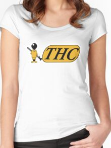 Funny Shirt - THC Women's Fitted Scoop T-Shirt