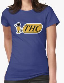 Funny Shirt - THC Womens Fitted T-Shirt