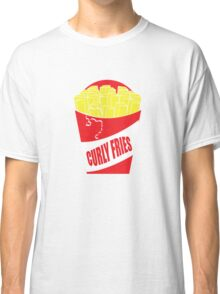 Funny Shirt - Curly Fries Classic T-Shirt