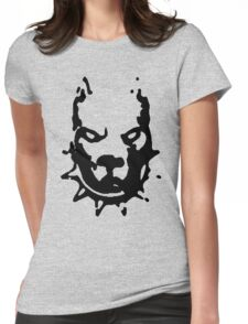 PITBULL TERRIER Womens Fitted T-Shirt