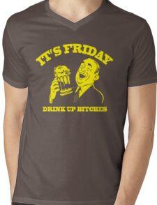 Funny Shirt - Drink Up Mens V-Neck T-Shirt