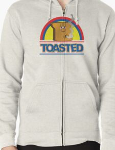 Funny Shirt - Toasted Zipped Hoodie