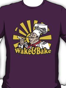 Funny Shirt - Wake and Bake T-Shirt