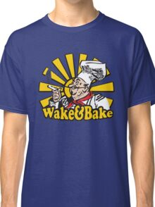 Funny Shirt - Wake and Bake Classic T-Shirt