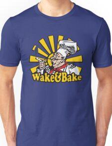 Funny Shirt - Wake and Bake Unisex T-Shirt