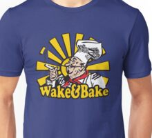 Funny Shirt - Wake and Bake Unisex T-Shirt