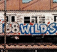 Subway Train Graffiti 2 - 1980's by Wellb69Images