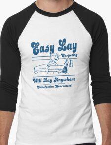 Funny Shirt - Easy Lay Men's Baseball ¾ T-Shirt