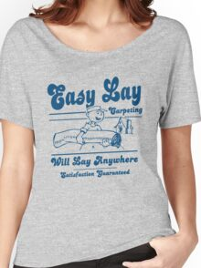 Funny Shirt - Easy Lay Women's Relaxed Fit T-Shirt