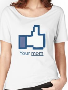 Funny Shirt - Facebook Women's Relaxed Fit T-Shirt