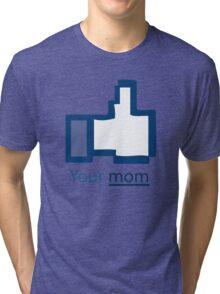 Funny Shirt - Facebook Tri-blend T-Shirt