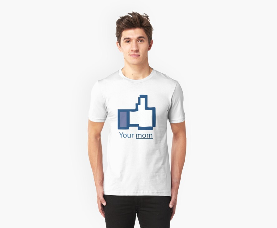 Funny Shirt - Facebook by MrFunnyShirt