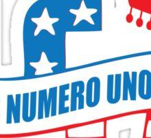 Funny Shirt - USA Is Numero Uno Funny Sticker