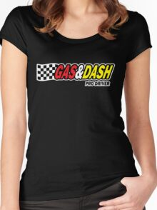 Funny Shirt - Gas and Dash Women's Fitted Scoop T-Shirt