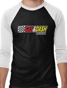 Funny Shirt - Gas and Dash Men's Baseball ¾ T-Shirt