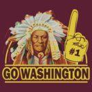 Funny Shirt - Go Washington by MrFunnyShirt