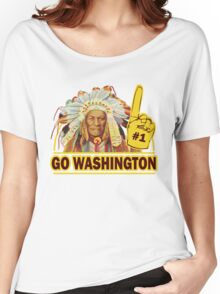 Funny Shirt - Go Washington Women's Relaxed Fit T-Shirt