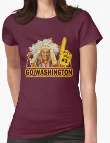 Funny Shirt - Go Washington Womens Fitted T-Shirt