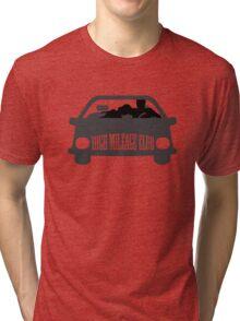 Funny Shirt - High Mileage Club Tri-blend T-Shirt