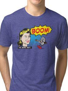 Funny Shirt - Money Shot Tri-blend T-Shirt