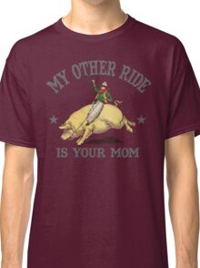 Funny Shirt - My Other Ride Classic T-Shirt