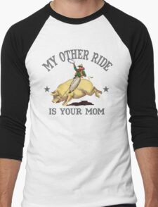Funny Shirt - My Other Ride Men's Baseball ¾ T-Shirt