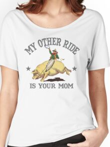 Funny Shirt - My Other Ride Women's Relaxed Fit T-Shirt