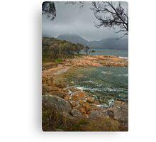Rainstorm over Coles Bay Canvas Print