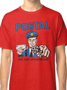 Funny Shirt - Postal Classic T-Shirt