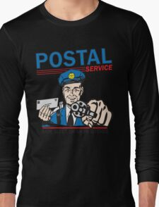 Funny Shirt - Postal Long Sleeve T-Shirt